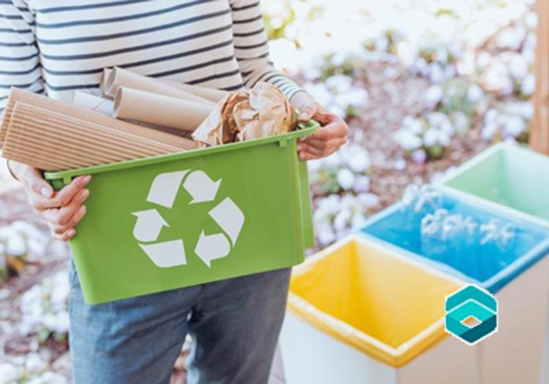 بازیافت ضایعات مقوا