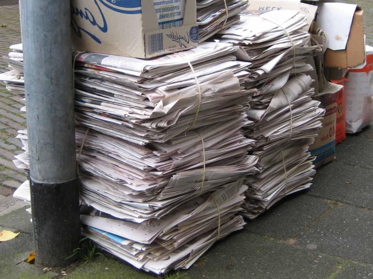 خریدار روزنامه باطله